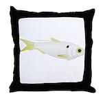 Threadfin Shad hr fish Throw Pillow