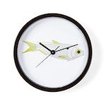 Threadfin Shad hr fish Wall Clock