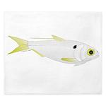 Threadfin Shad hr fish King Duvet