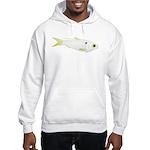 Threadfin Shad hr fish Hoodie