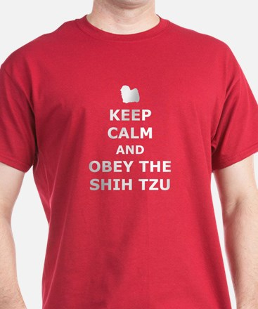 Obey The Shih Tzu T-Shirt