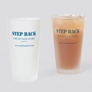 Step back 1 Drinking Glass