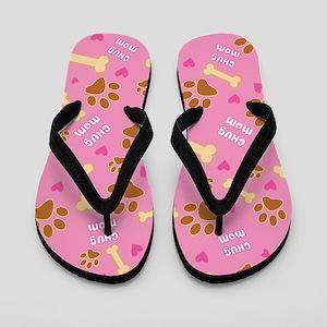 Chug Mom Gift Flip Flops