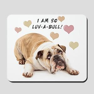 Luv-a-Bull Mousepad