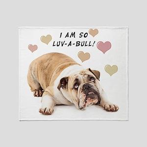 Luv-a-Bull Throw Blanket