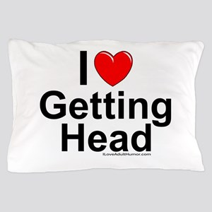 Getting Head Pillow Case