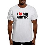 I Love My Auntie Light T-Shirt