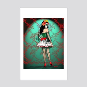 Dia De Los Muertos Stockings Pin-up Posters