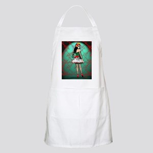 Dia De Los Muertos Stockings Pin-up Apron