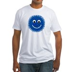 """Royal Fuzzy"" Fitted T-shirt"