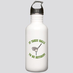 Funny Retired Golfer Stainless Water Bottle 1.0L