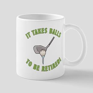 Funny Retired Golfer Mug