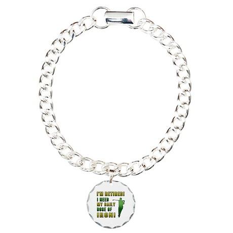 Funny Golfing Retirement Bracelet