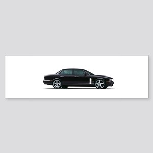 Black Jaguar Bumper Sticker