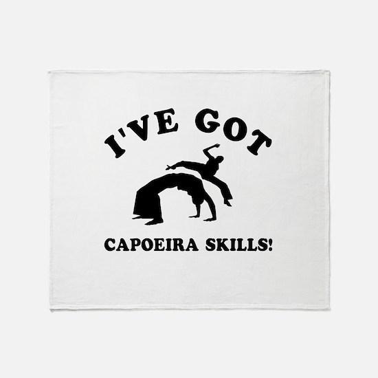 I've got Capoeira skills Throw Blanket