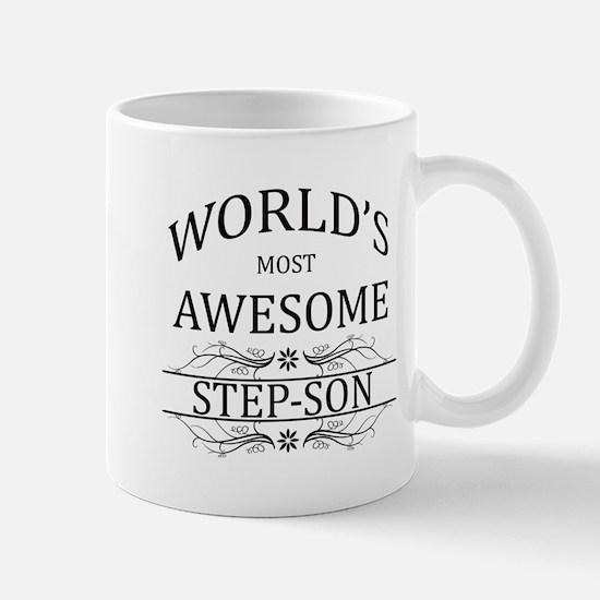 World's Most Awesome Step-Son Mug