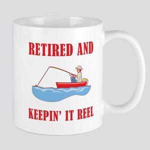 Funny Fishing Retirement Mug
