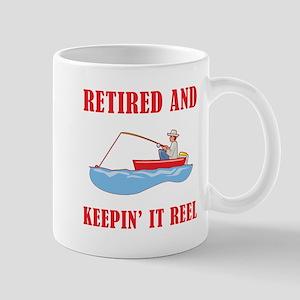 Funny Fishing Retirement Mug