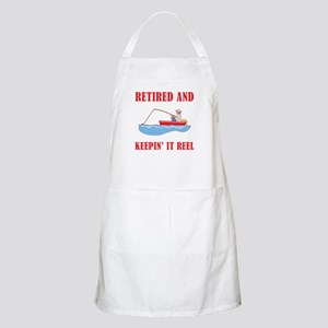 Funny Fishing Retirement Apron