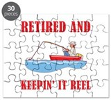 Funny fishing retirement Puzzles