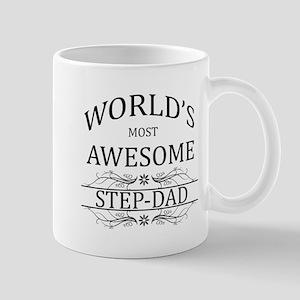World's Most Awesome Step-Dad Mug