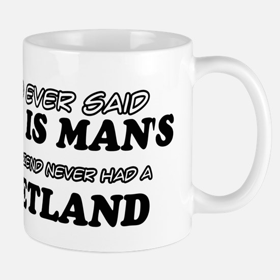 Funny Shetland designs Mug