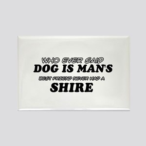 Funny Shire designs Rectangle Magnet