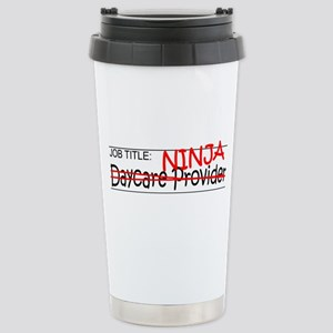 Job Ninja Daycare Stainless Steel Travel Mug