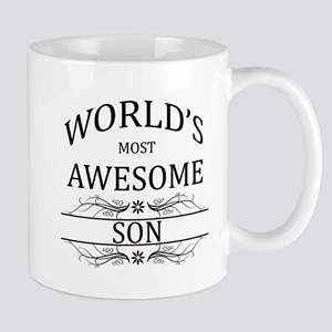 World's Most Awesome Son Mug
