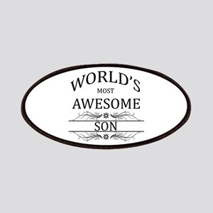 World's Most Awesome Son Patches