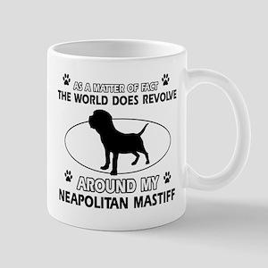 Neapolitan Mastiff Dog breed designs Mug