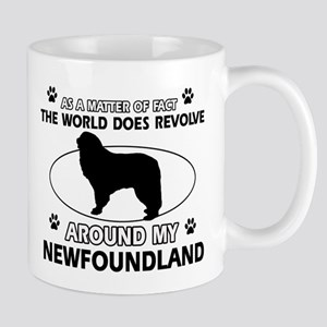 NewFoundland Dog breed designs Mug