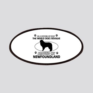 NewFoundland Dog breed designs Patches