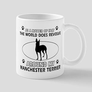 Manchester Terrier Dog breed designs Mug
