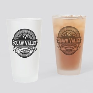 Squaw Valley Grey Drinking Glass