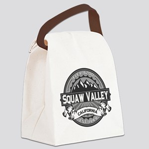 Squaw Valley Grey Canvas Lunch Bag
