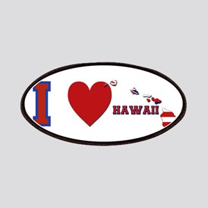 I Love Hawaii Patches