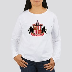 Vintage Sunderland AFC Women's Long Sleeve T-Shirt