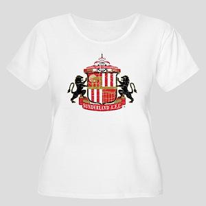 Vintage Sunde Women's Plus Size Scoop Neck T-Shirt
