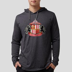Vintage Sunderland AFC Crest Mens Hooded Shirt