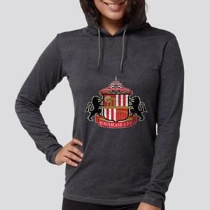 Vintage Sunderland AFC Crest Womens Hooded Shirt