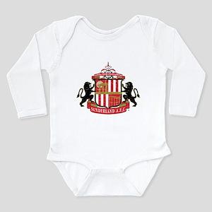 Vintage Sunderland AFC Long Sleeve Infant Bodysuit