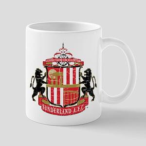 Vintage Sunderland AFC Crest 11 oz Ceramic Mug