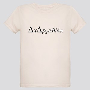Heisenberg Uncertainty Principle Organic Kids T-Sh