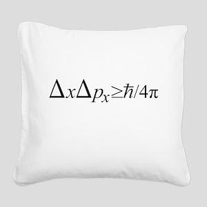 Heisenberg Uncertainty Principle Square Canvas Pil