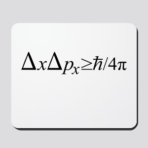 Heisenberg Uncertainty Principle Mousepad