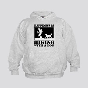 Happiness is Hiking with a Dog Hoodie