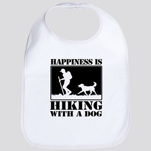 Happiness is Hiking with a Dog Bib
