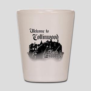 Dark Shadows Welcome To Collinwood Shot Glass