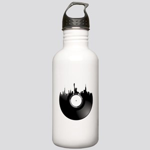 New York City Vinyl Record Water Bottle
